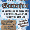Gartenfest in der Puit am 23.08.2014